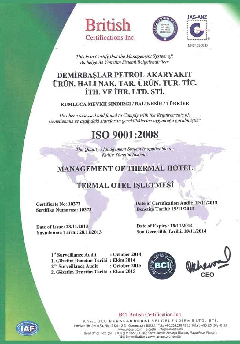 ISO 9001:2008 / 1