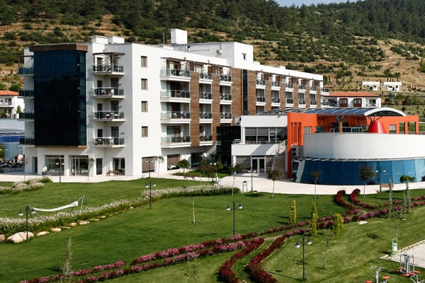 Ege Bölgesindeki kaplıca otelleri