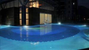 akşam termal havuz